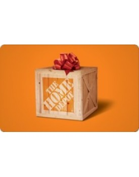 HOME DEPOT $10 Gift Card