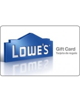 LOWES $10 Gift Card